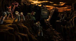 Divide Battle by Nukechaser24