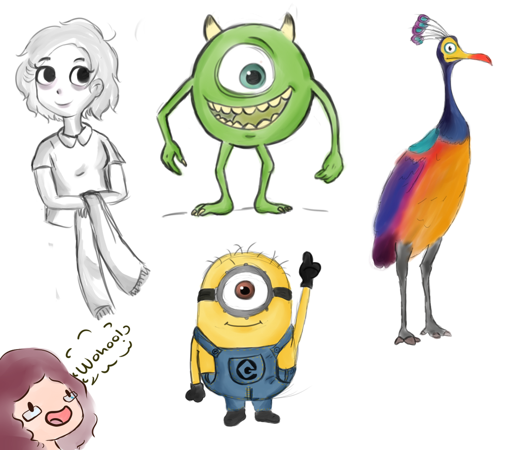 Drawings of Disney Characters Tumblr images