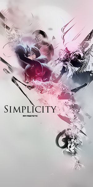 Simplicity by MayaGenetic