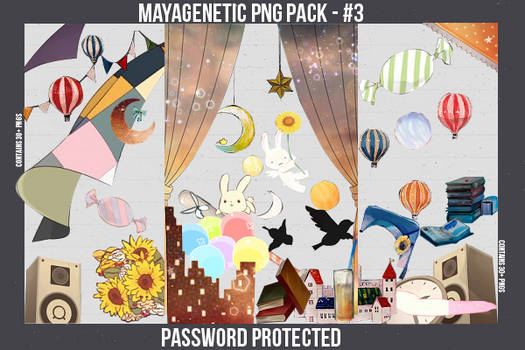 PNG Pack - 3 by MayaGenetic
