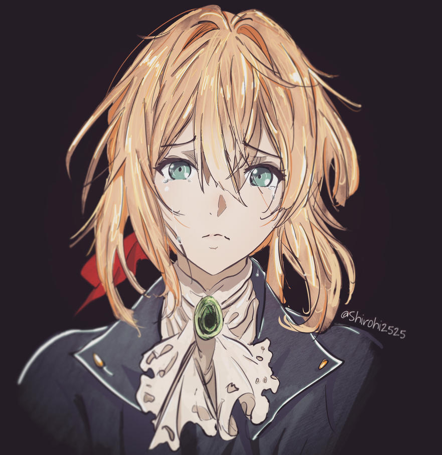 Violet Evergarden Fanart By Shirohi2525 By Shirohi2525 On