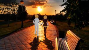 [MMD] Rin and Len Love