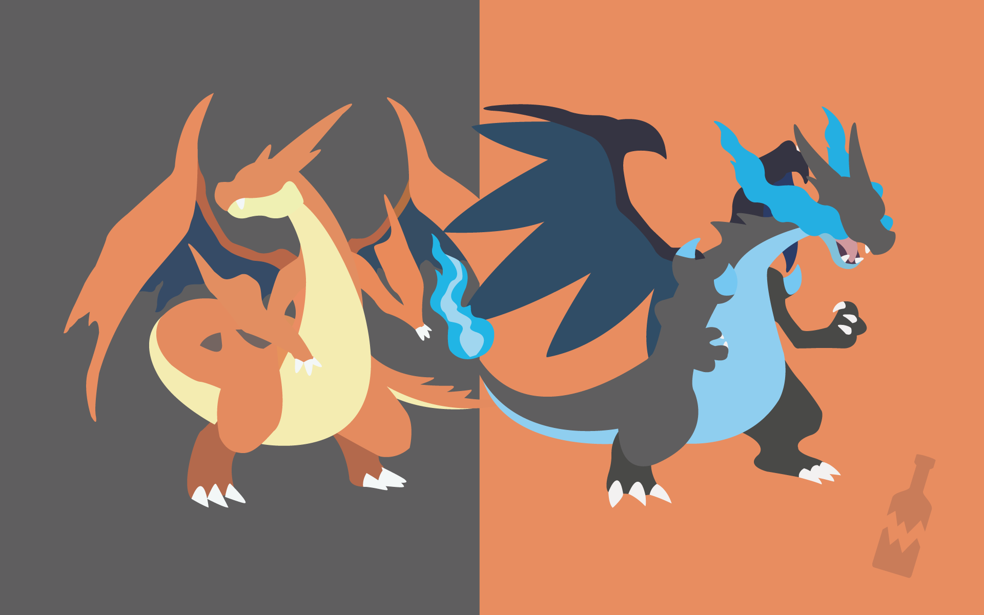 Pokemon Mega Charizard X And Y By Thebrokenbottle On Deviantart
