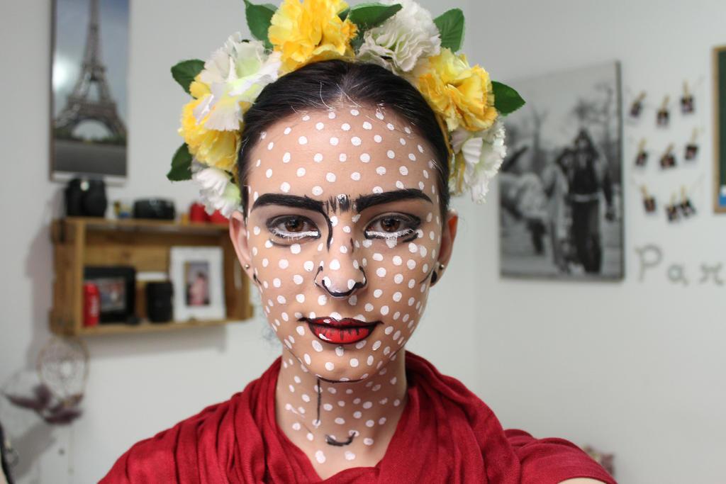 Frida Kahlo - Pop Art Makeup by NataliaFerreira ...
