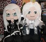 Sephiroth + Arthas Plushie by REQ-Inferno
