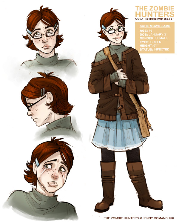 Katie concept art by Ashwings