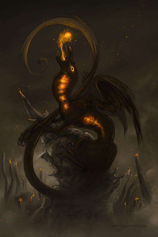 Volcano Dragon by Ashwings