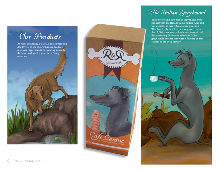 R+R Dogfood Packaging 2 by Ashwings