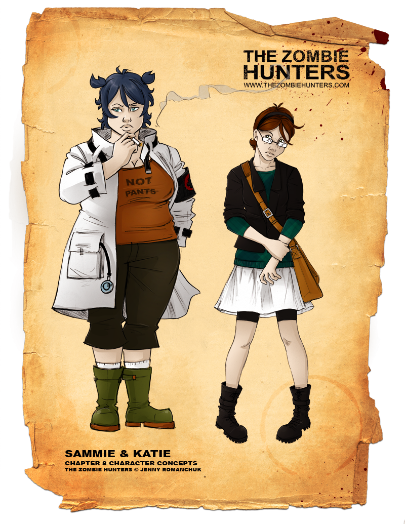 Sam and Katie Chap8 Concepts by Ashwings