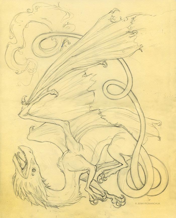 Moleskine: Quetzalcoatl Lines by Ashwings