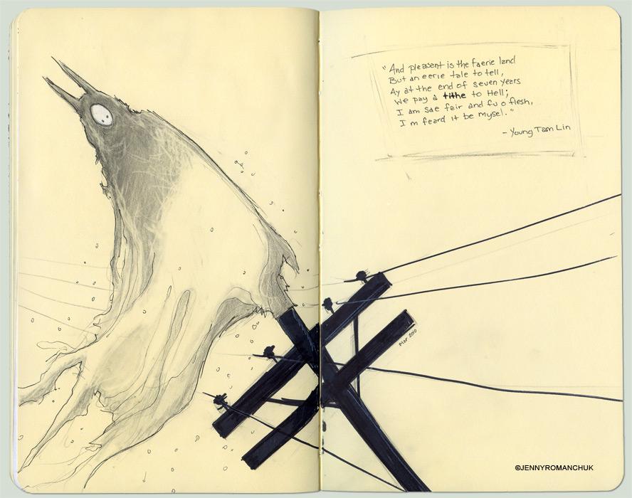 Moleskine: Tithe by Ashwings