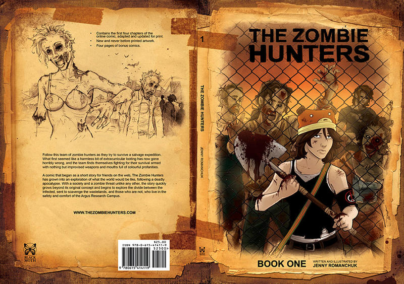 TZH Book: Front and Back Cover by Ashwings
