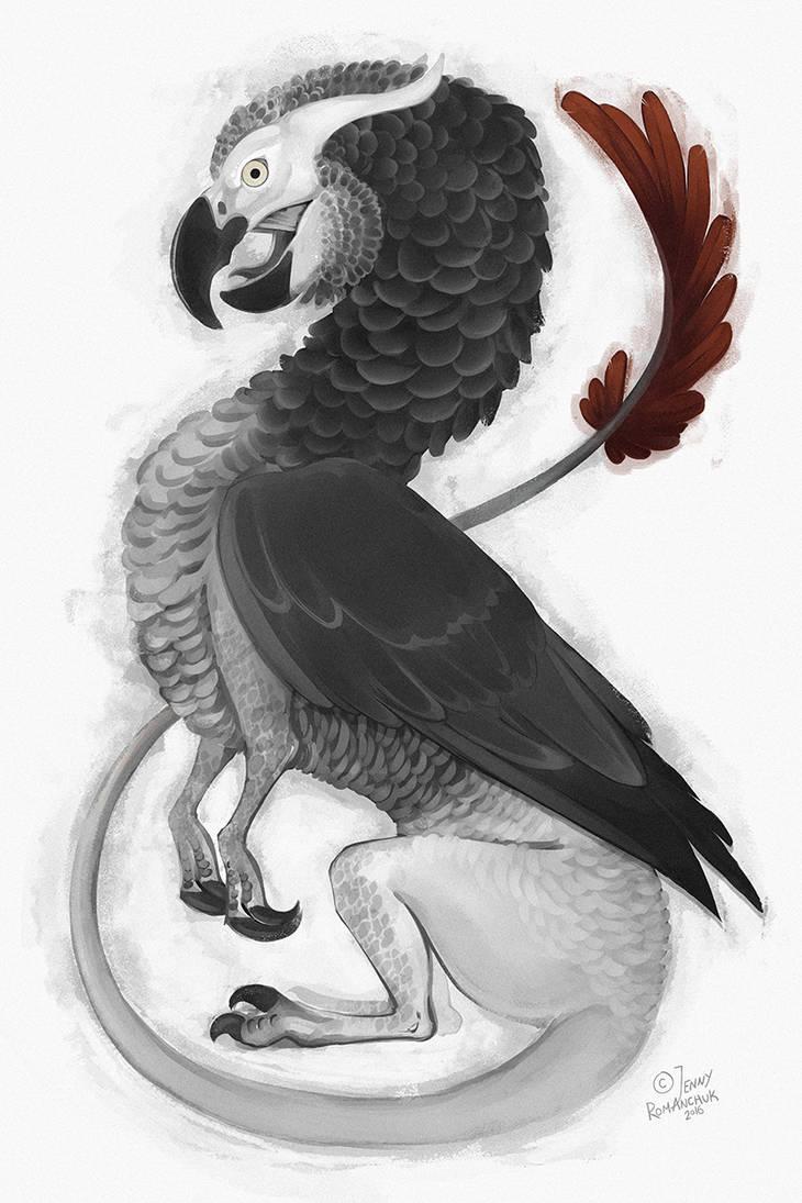 African Gray Dragon