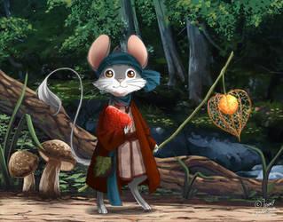 Little Mouse by Ashwings