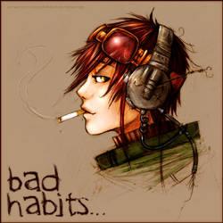 Bad Habits Die Hard. by Ashwings