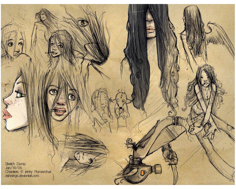 Sketch Dump by Ashwings