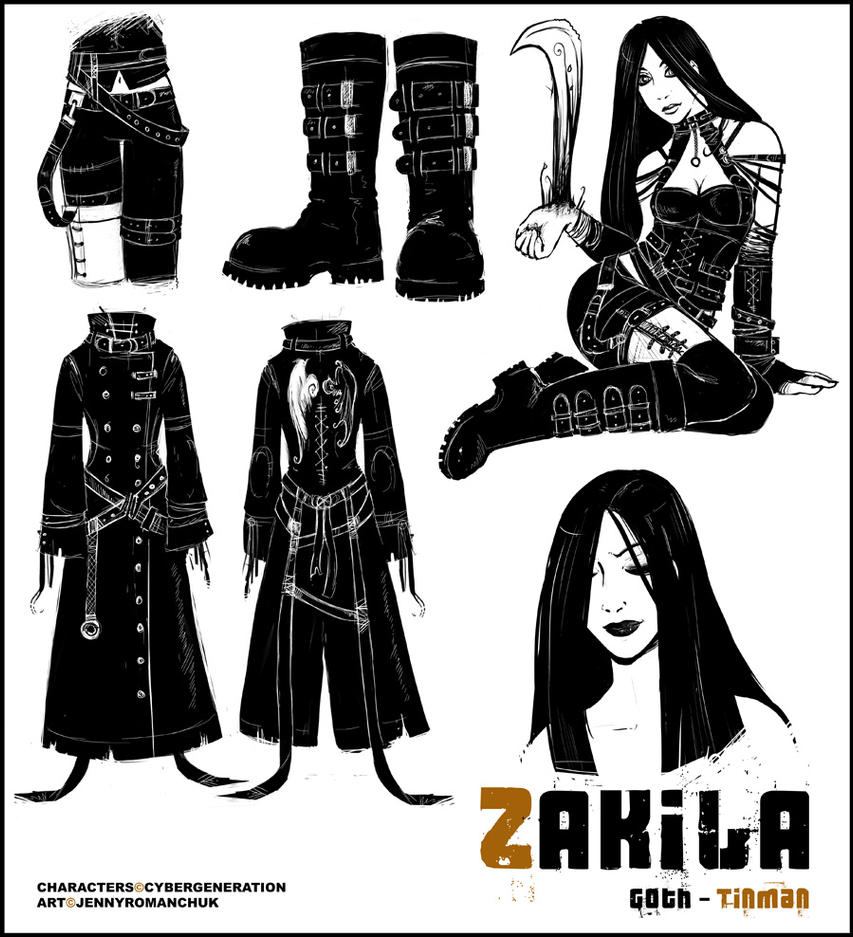CyberGeneration - Zakila by Ashwings