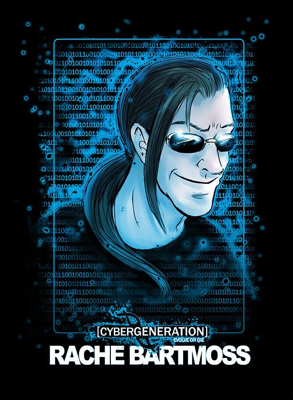 CyberGen - Rache Bartmoss by Ashwings