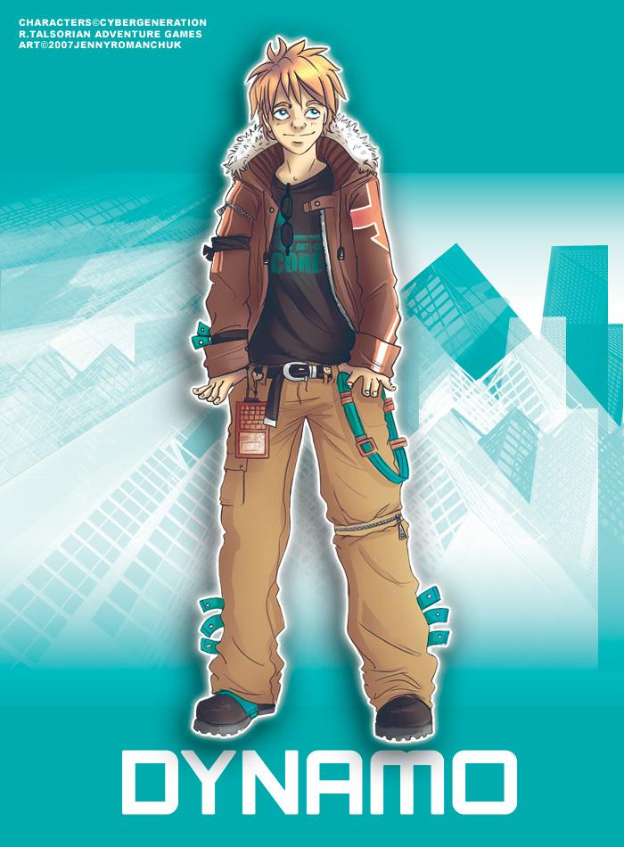 Cybergen - Dynamo for Jenn by Ashwings