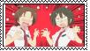 Kaede and Yuzu stamp by Yuri-milkshake