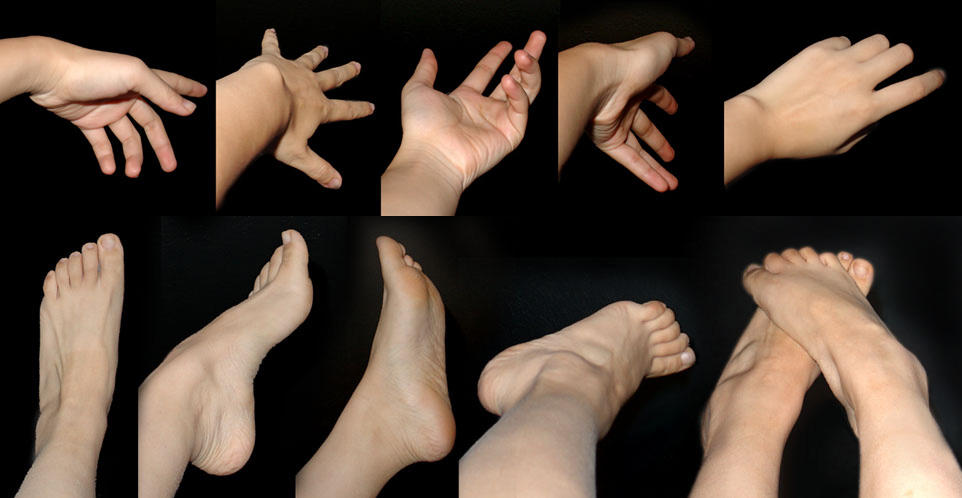 Feet Hand by NoTouch