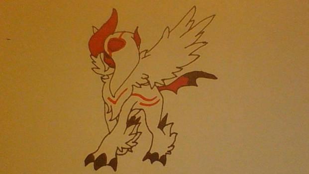 Amaterasu Pokemon Mega form