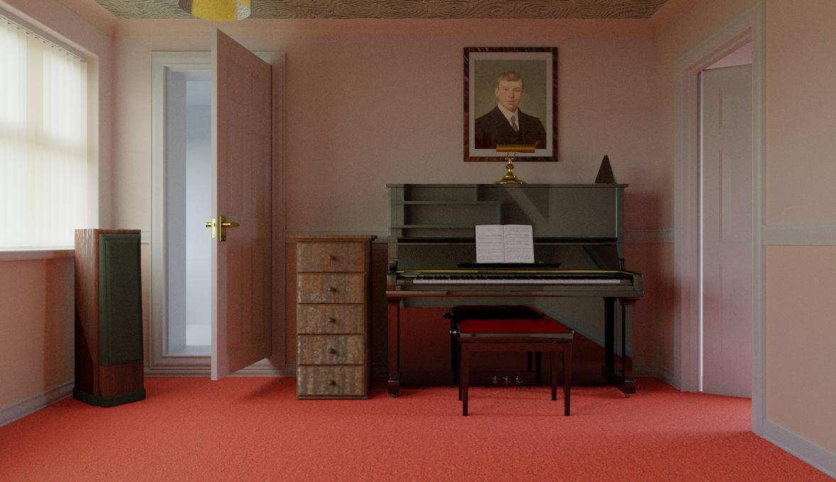 Blender House Room Downloadd