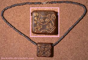 Ancient Mew Amulet by jen-kollic