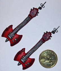 Axe-Bass Earrings
