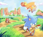 Sonic 29th anniversary - 29 years running