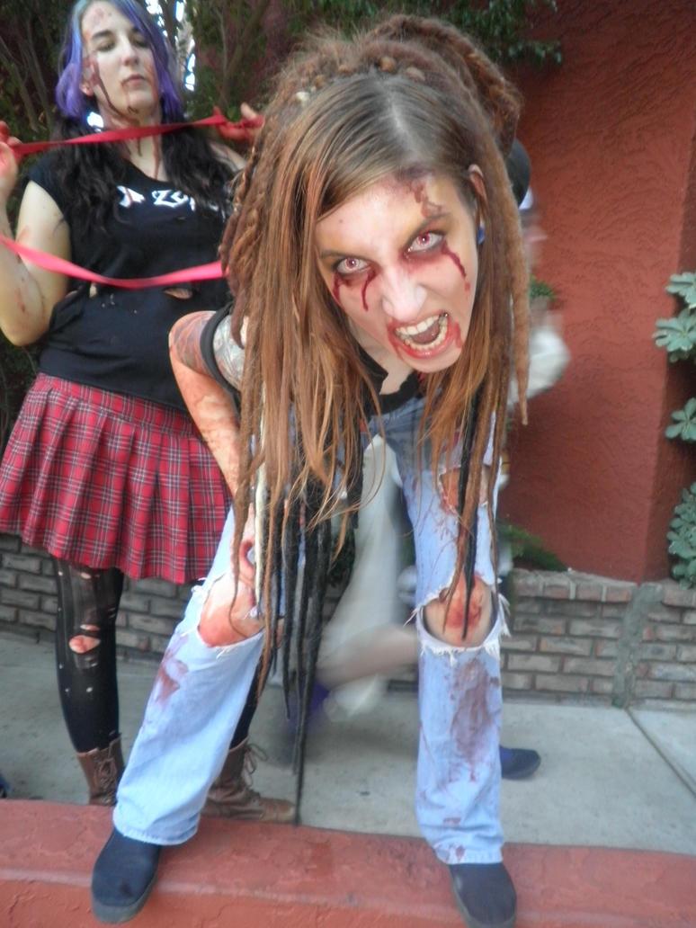 Zombie speed dating