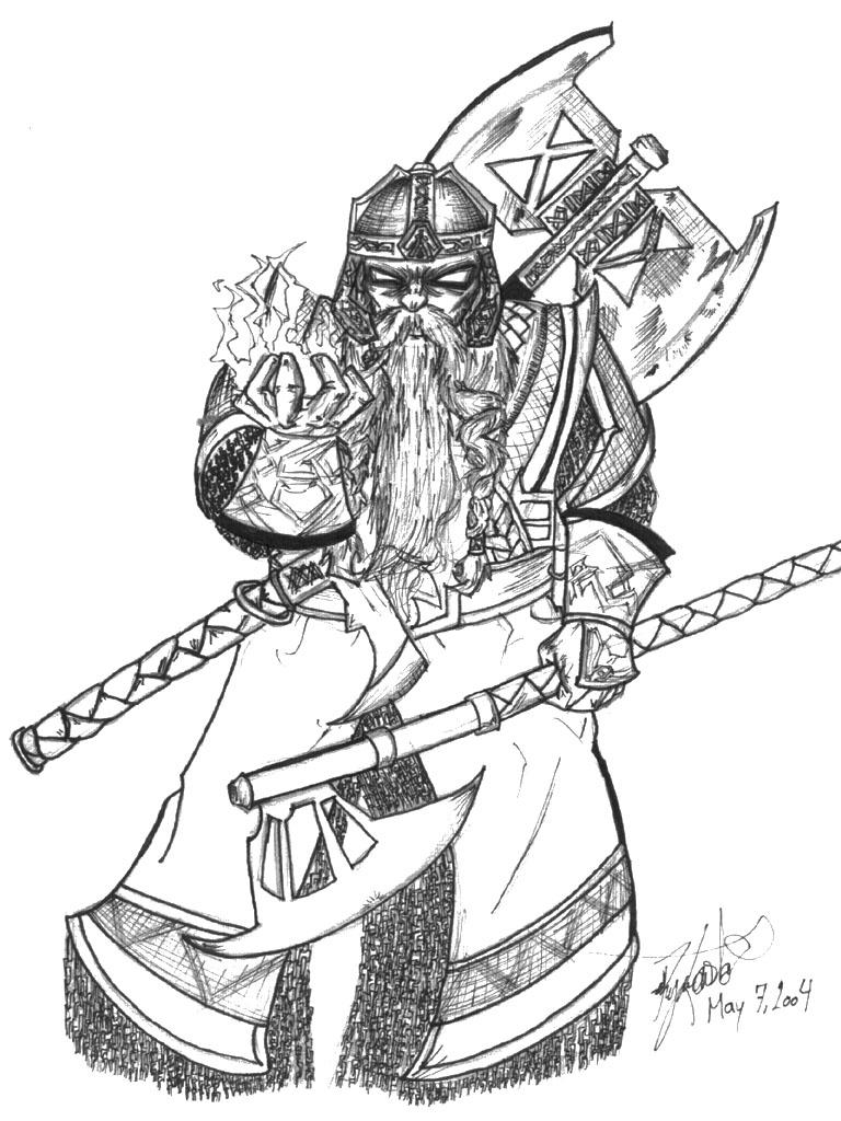 gimli coloring pages sketch coloring page
