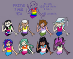 {YCH} [CLOSED] Pride Tank Tops
