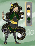 [Hitsuans][CLOSED] Gold and Green Adopt