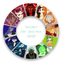 2020 Color Wheel Meme