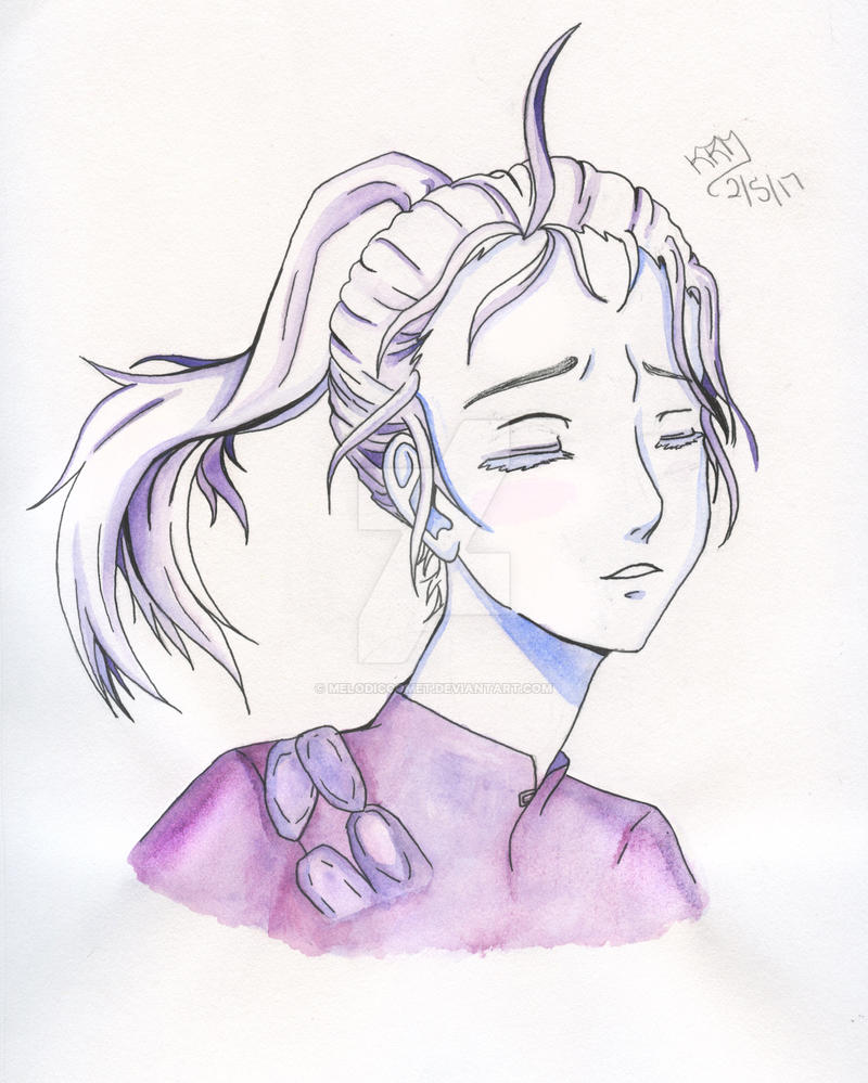 Lavender- Young Viktor (Yuuri!!! on Ice) by MelodicComet