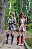 Fire Emblem Awakening - Sumia and Cordelia by KHalfkey