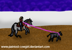 Spanky - PDRC Breakaway by painted-cowgirl