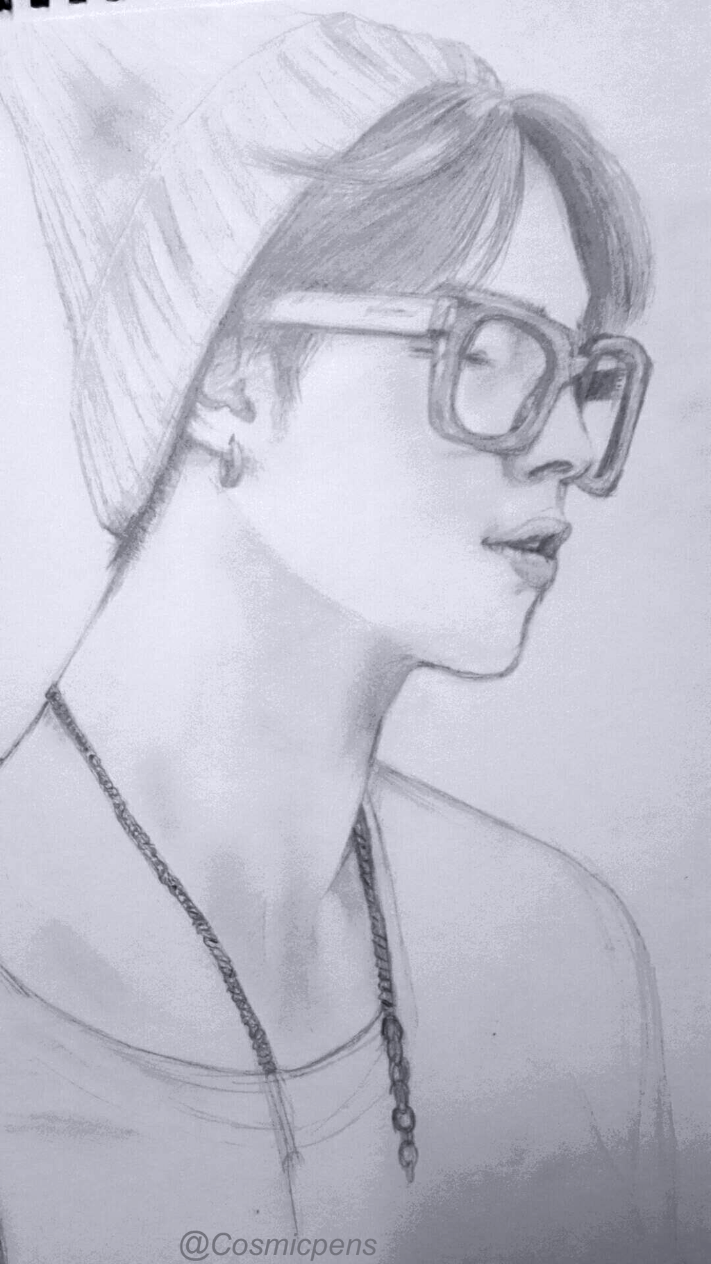 Jimin Sketch By Cosmicpens On DeviantArt