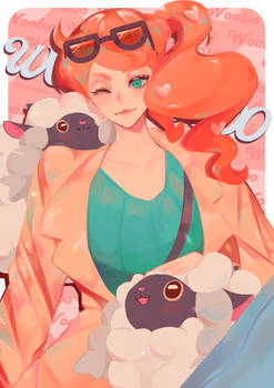 Sonia and the Wooloos