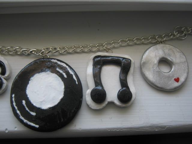 I Love Music Bracelet 2 by CraftyGirl27