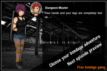 Choose your Bondage Adventure - Preview and News by BondageGames