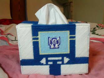 Soundwave tissue box by kynight