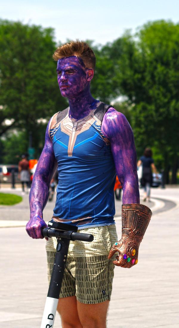 Purple Man Cosplay