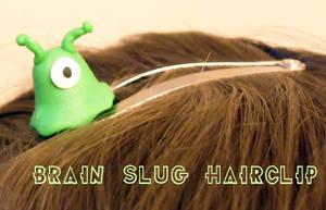 Futurama Brain Slug by Blackash