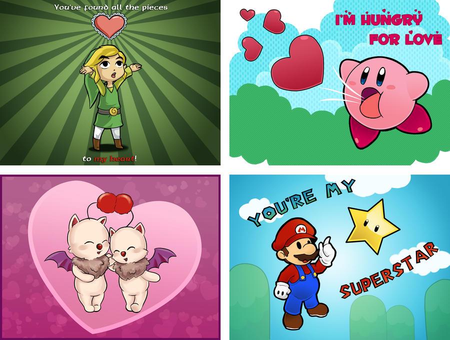 Game valentines by Blackash