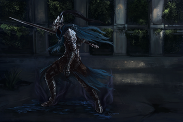 Knight Artorias by Blackash