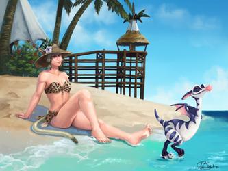 Beachy Fehli by Blackash