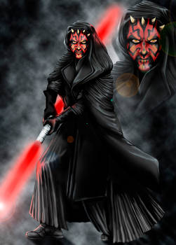 Darth Maul by NightFlame666
