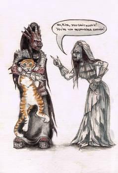 Traditional Lordish greeting